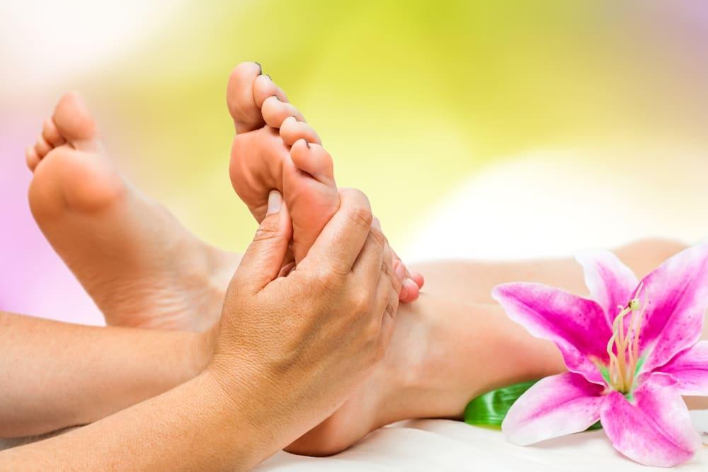 Pėdų masažas ir jo nauda sveikatai